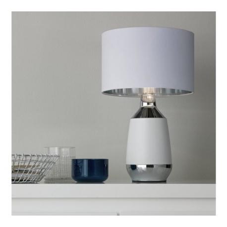 STOLNÍ DOTYKOVÁ LAMPA PLUTO 45 Cm  BÍLÁ  1349/V PPP
