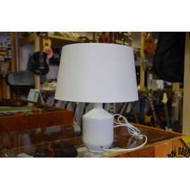 STOLNÍ  LAMPA KERAMICKÁ BÍLÁ   0217/n PPP