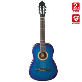 Klasická kytara 1/2 Ashton SPCG 12 TBB Pack (modrá) - B Stock
