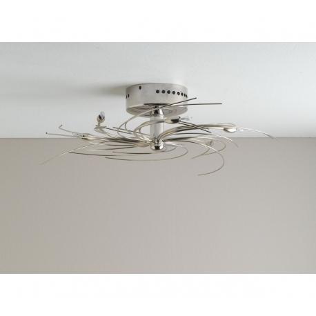 LUSTR SPIRAL CHROM 6 světel 45CM 5743/V PPP